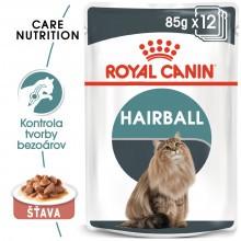 Royal Canin Hairball care 12x85g - v šťave