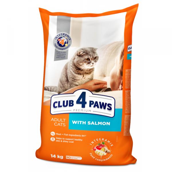 Club4Paws premium s lososom 14 kg
