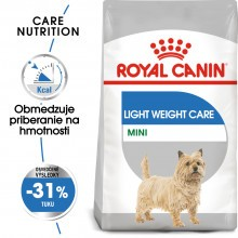 Royal Canin mini light weight care granule 3kg