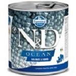 Farmina N&D dog OCEAN Trout & Salmon konzerva 285g
